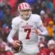 Indiana quarterback Nate Sudfeld