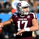 Texas A&M Aggies quarterback Nick Starkel