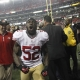 San Francisco 49ers' Patrick Willis