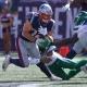 New England Patriots running back Rex Burkhead