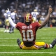 Washington Redskins quarterback Robert Griffin III