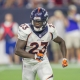 Denver Broncos running back Ronnie Hillman