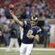 St Louis Rams' quarterback Sam Bradford
