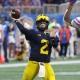 Michigan Wolverines quarterback Shea Patterson