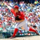 Washington Nationals starting pitcher Stephen Strasburg