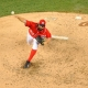 Washington Nationals starting pitcher Tanner Roark