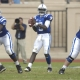 Duke quarterback No. 9 Thaddeus Lewis.