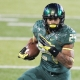 Oregon Ducks running back Thomas Tyner