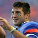 Tim Tebow of the Florida Gators.