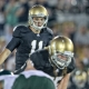 Notre Dame Fighting Irish quarterback Tommy Rees