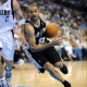 San Antonio Spurs guard Tony Parker