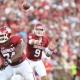Oklahoma Sooner quarterback Trevor Knight