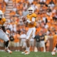 Tennessee Volunteer quarterback Tyler Bray