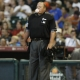 Major league Baseball home plate umpire Wally Bell
