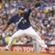 Milwaukee Brewers Starting pitcher Wily Peralta