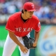 Texas Rangers starting pitcher Yu Darvish