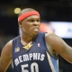 Zach Randolph of the Memphis Grizzlies